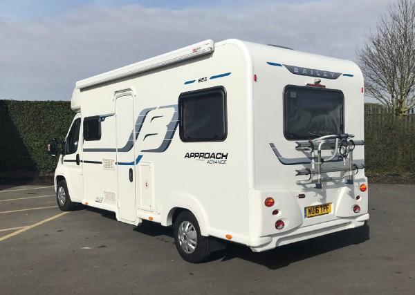 Model Used Motorhomes - 2016 Peugeot Bailey Advance 665 - West Country Motorhomes - Somerset UKu0026#39;s ...