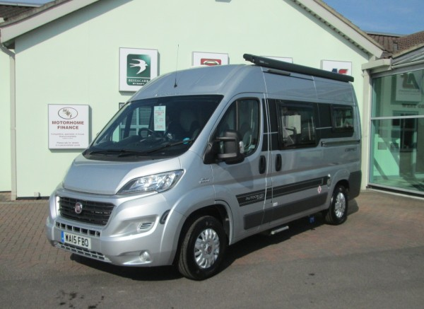 Used motorhomes 2015 fiat autocruise rhythm compact for Used small motor homes