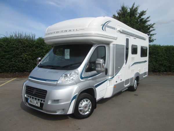 Perfect Used Motorhomes - 2012 Fiat Auto-Trail Apache 634 - West ...