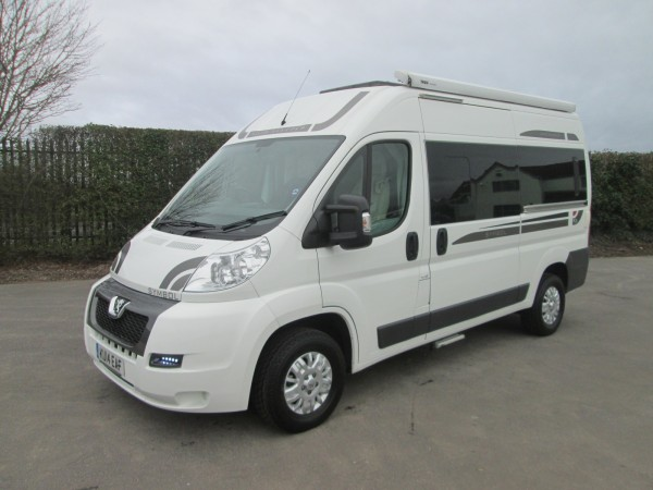 Beautiful Used Motorhomes - 2014 Peugeot Auto-Sleepers Symbol - West Country Motorhomes - Somerset UKu0026#39;s ...