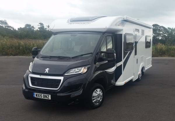 Original Used Motorhomes - 2015 Peugeot Bailey Autograph 740 - West Country Motorhomes - Somerset UKu0026#39;s ...